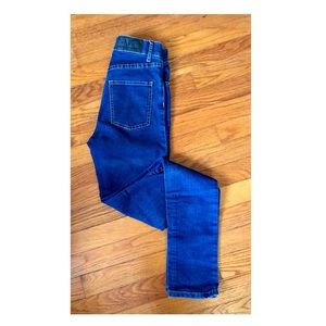 Cheap Monday Second Skin High Waisted Blue Jeans